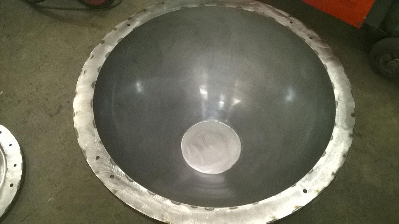 16) Base once polished