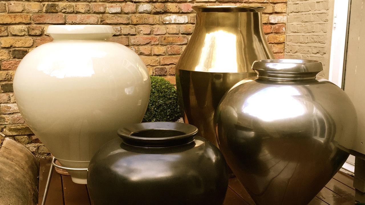 Pots once moulded